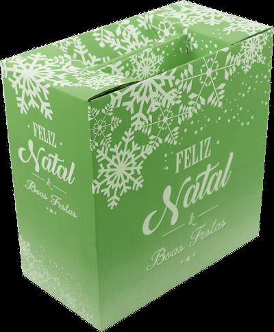Caixa de Natal MM Embalagens - opção 3