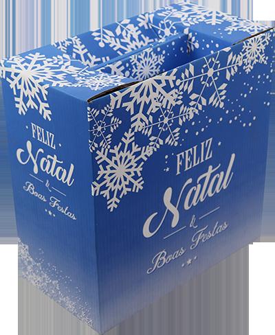 Caixa de Natal MM Embalagens - opção 2