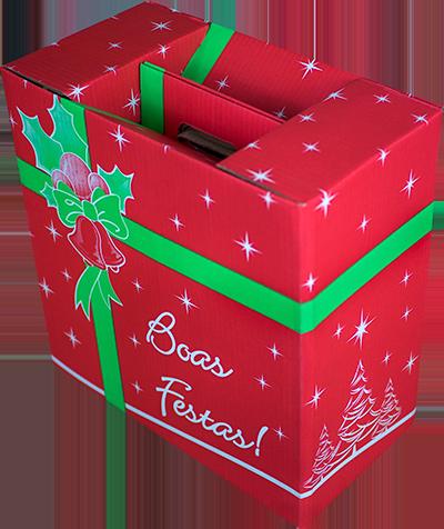 Caixa de Natal MM Embalagens - opção 1