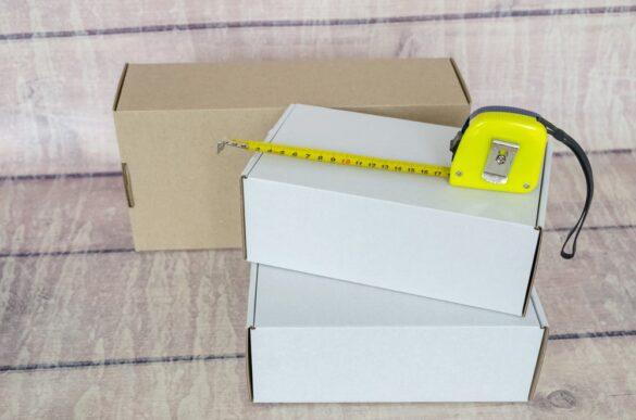Aprenda de uma vez por todas a medir dimensões de uma caixa de papelão